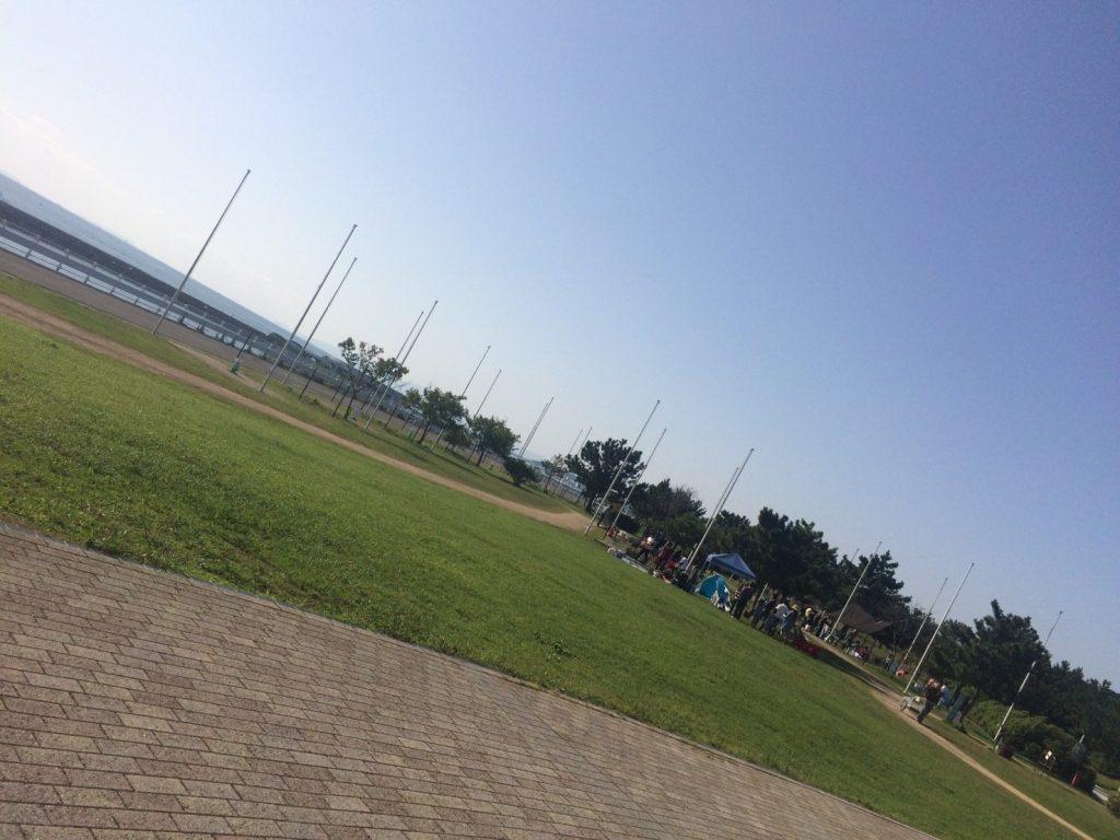 バーベキュー広場 海峡公園1