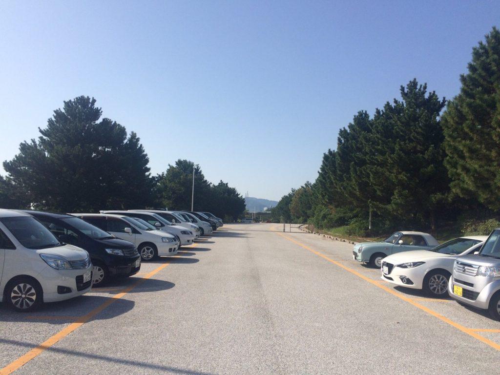 海岸南駐車場